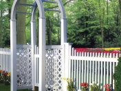 awesome-white-vinyl-picket-fence-and-gate-images